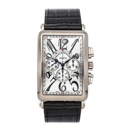 Franck Muller Long Island Chronograph Automatic // 1200 CC AT WG // Pre-Owned