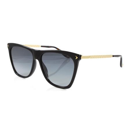 Women's GV7096S Sunglasses // Black + Gold