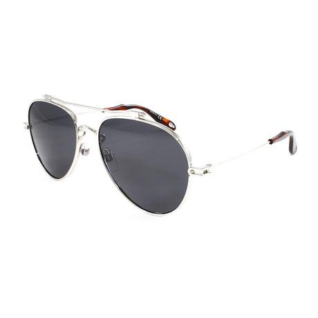 Men's GV7057S Sunglasses // Silver + Gray
