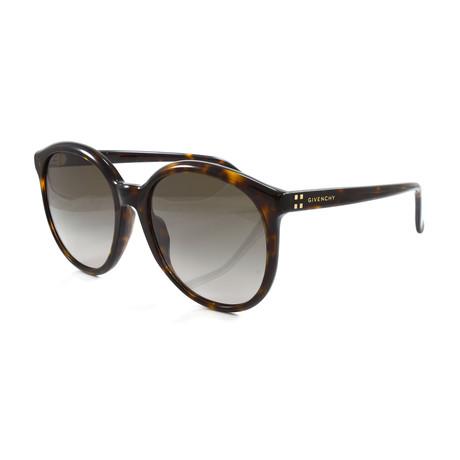 Women's GV7107S Sunglasses // Dark Havana