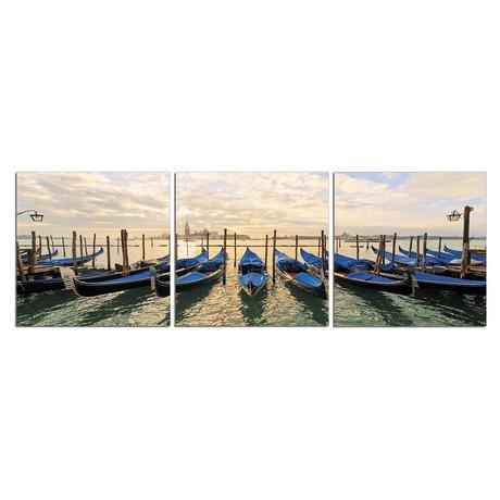 Gondalas At Venice