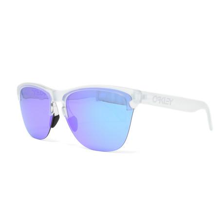 Men's Frogskins Lite OO9374 Sunglasses // 63mm // Matte Clear