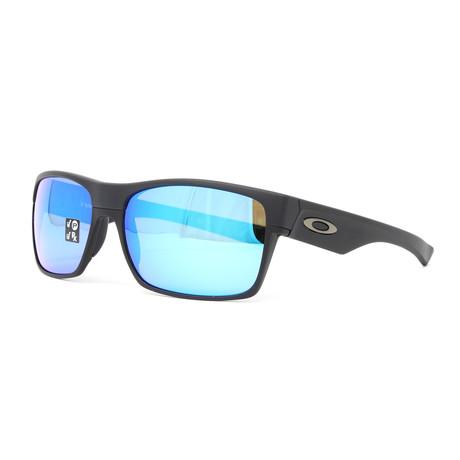 Men's Two Face OO9189 Polarized Sunglasses // 60mm // Matte Black