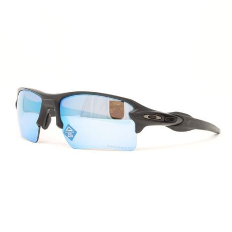 Men's Flak 2.0 XL OO9188 Polarized Sunglasses // 59mm // Matte Black