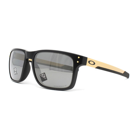 Men's Holbrook Mix OO9384 Polarized Sunglasses // 57mm // Matte Black
