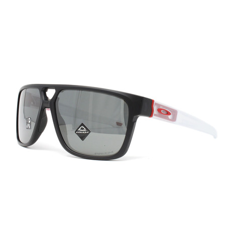 Men's Crossrange Patch OO9382 Sunglasses // Matte Black + White