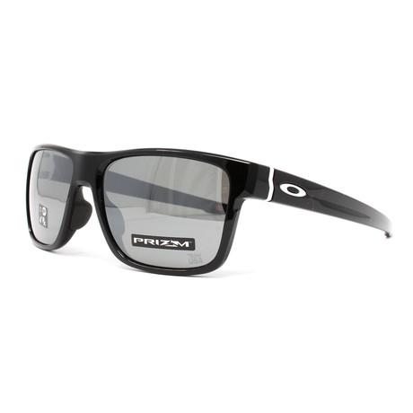 Men's Crossrange OO9371 Sunglasses // 57mm // Polished Black