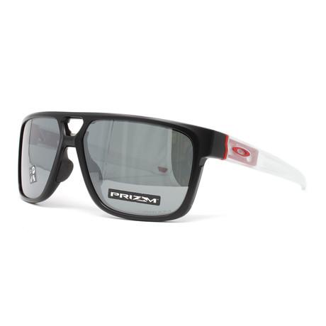 Men's Crossrange Patch OO9391 Sunglasses // Matte Black + White