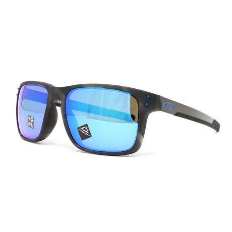 Men's Holbrook Mix OO9384 Polarized Sunglasses // 57mm // Matte Black + Tortoise