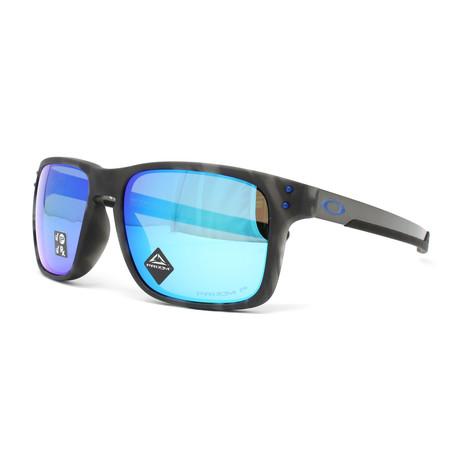 Men's Holbrook Mix OO9385 Polarized Sunglasses // 57mm // Matte Black + Tortoise
