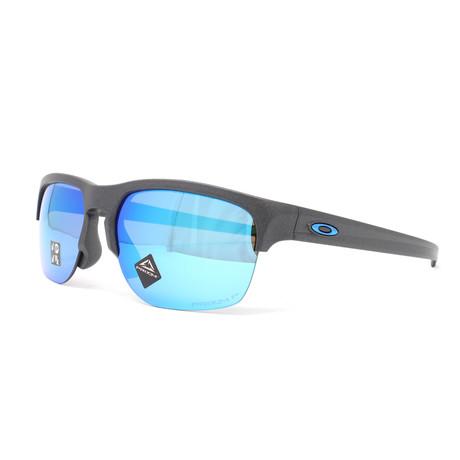 Men's Sliver Edge OO9414 Polarized Sunglasses // 63mm // Steel