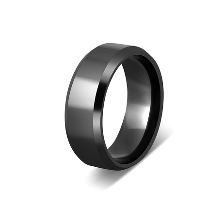 Gembu Ring // Black (Size 6)
