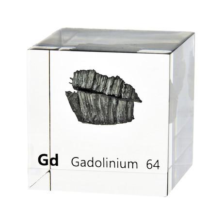 Lucite Cube // Gadolinium