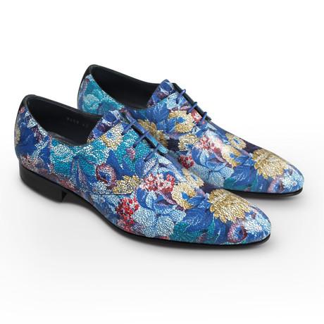 Meadow Mosaic Dress Shoes // Blue (Euro: 39)