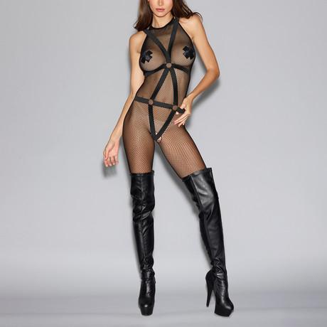 Bodystocking Harness // Black // One Size