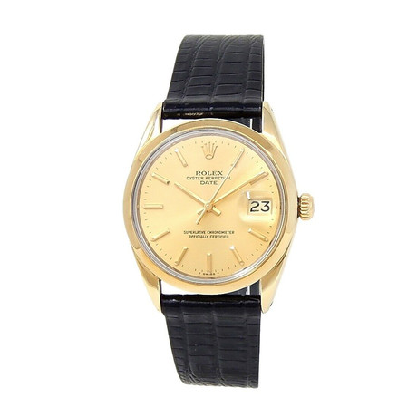 Rolex Date Automatic // 1550 // 3 Million Serial // Pre-Owned
