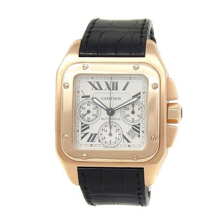 Cartier Santos 100 XL Chronograph Automatic // 100 XL // Pre-Owned