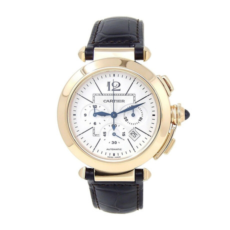 Cartier Pasha Chronograph Automatic // W3020151 // Pre-Owned