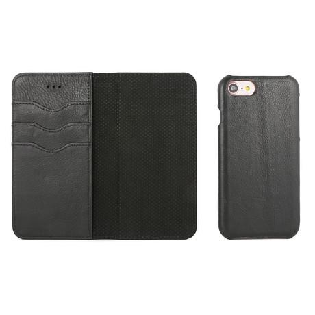 Artisan Wallet Case // Black (iPhone 11)