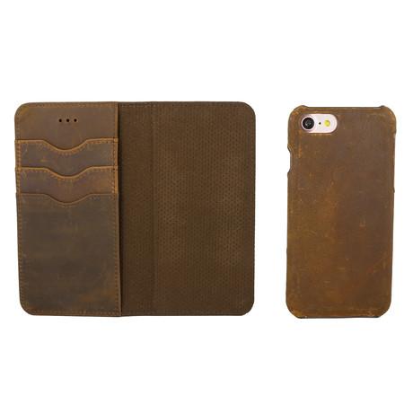 Artisan Wallet Case // Brown (iPhone 11)