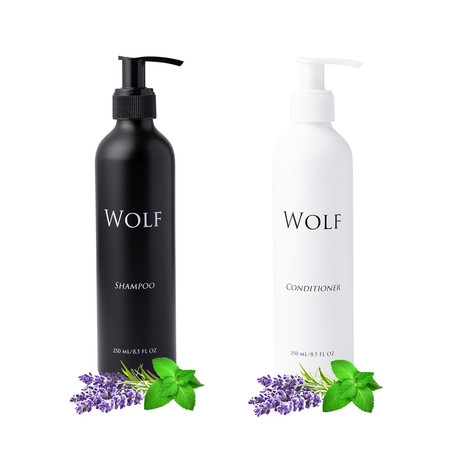 Shampoo + Conditioner Bundle (Peppermint Lavender)