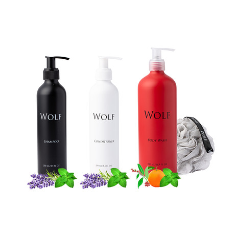 Complete Shower Package (Scented)