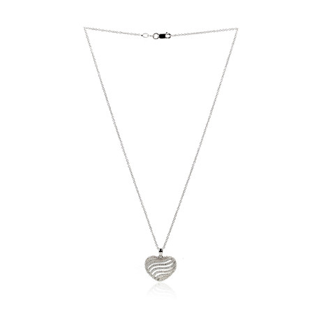 Piero Milano 18k White Gold Diamond Necklace IV