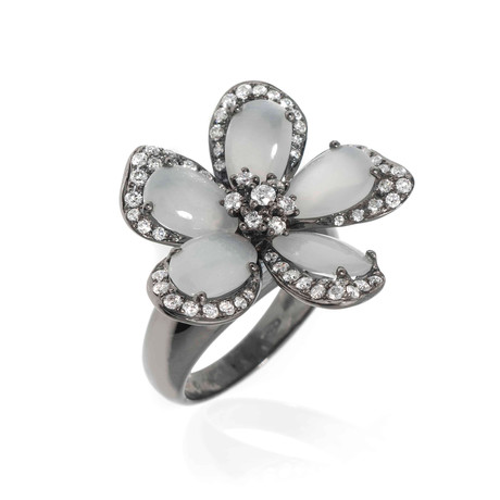 Piero Milano Diamond Statement Ring // Ring Size: 7