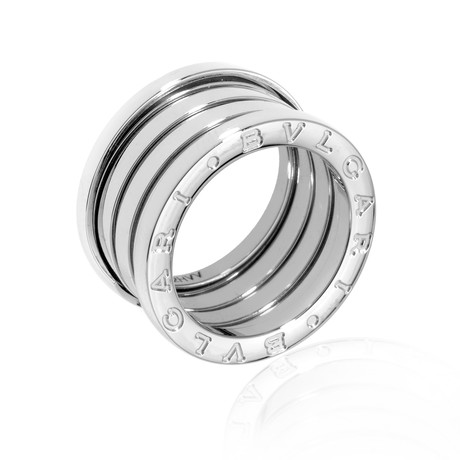 Bulgari 18k White Gold B Zero Ring II (Ring Size: 6.5)