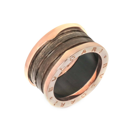 Bulgari 18k Rose Gold B.Zero 1 Ring (Ring Size: 7)