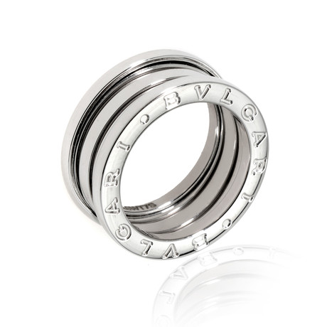 Bulgari 18k White Gold B Zero Ring I (Ring Size: 5.5)