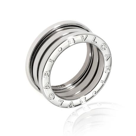 Bulgari 18k White Gold B Zero Ring // Store Display (Ring Size: 6.25)