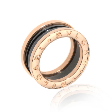 Bulgari 18k Rose Gold B Zero Ring // Ring Size: 5