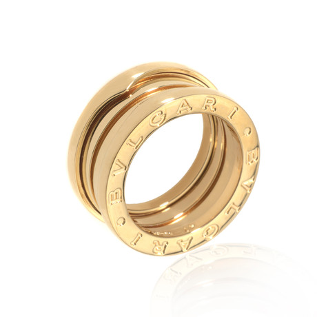 Bulgari 18k Yellow Gold B Zero Ring I (Ring Size: 4.25)