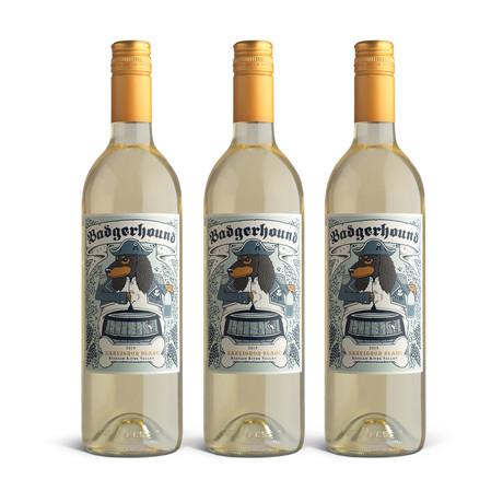 2019 Badgerhound Sauvignon Blanc // Set of 3