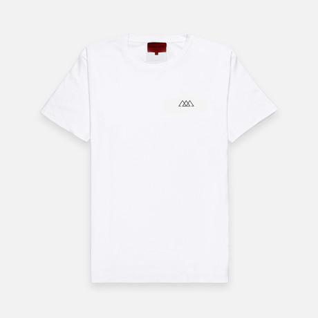 Men's 2.0 Chaos Logo Tee // Salt White (Small)