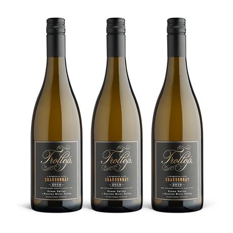 2019 Trollop Chardonnay // Set of 3