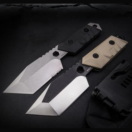 Sentry Fixed Blade Knife (Black)