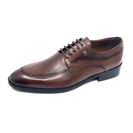 Milo Dress Shoe // Brown (Euro: 37)