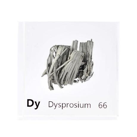 Lucite Cube // Dysprosium