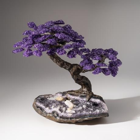 The Protection Tree // Amethyst Tree + Amethyst Matrix + Calcite // Custom