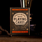 Provision Playing Cards // Set of 2