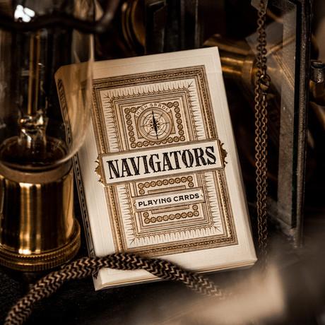 Navigator Playing Cards // Set of 2