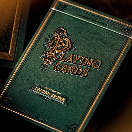 Derren Brown Playing Cards // Set of 2