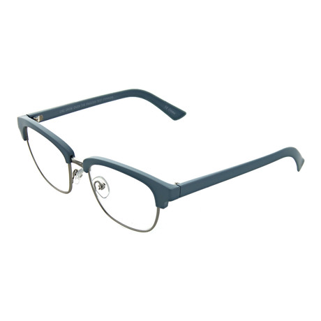 Unisex Square Readers // Sky Silver (+0.00)