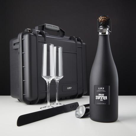 Endless Summer 2020 Edition Champagne // Saber + Crystal Flutes