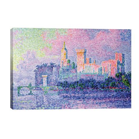 The Chateau des Papes, Avignon, 1900 // Paul Signac