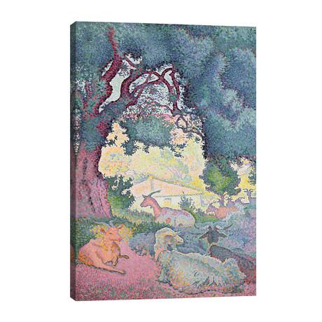 Landscape with Goats, 1895 // Henri-Edmond Cross
