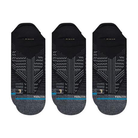 Athletic Tab Socks // Black // 3-Pack (M)