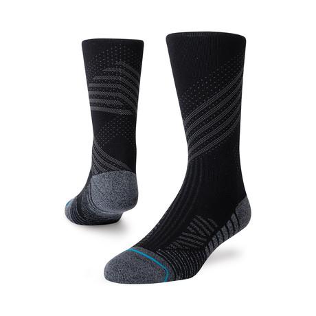 Athletic Crew Socks // Black // 3-Pack (M)